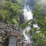 banos photo the waterfall