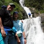 banos photo: the chamana waterfall