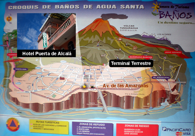 Hotel puerta de alcala banos ecuador directorio local banos city directory - Hotel puerta de alcala ...