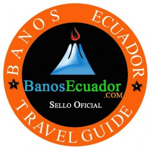 banos ecuador weather logo