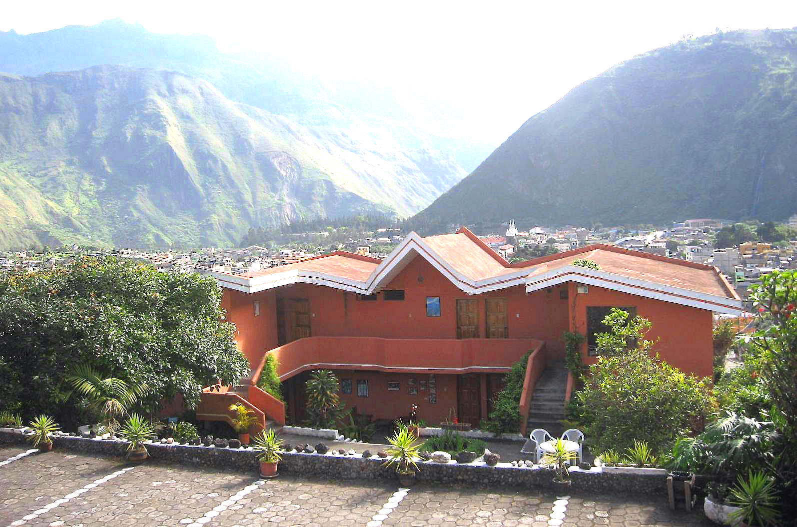 Hosteria llanovientos banos ecuador directorio local - Hoteles en banos ecuador ...