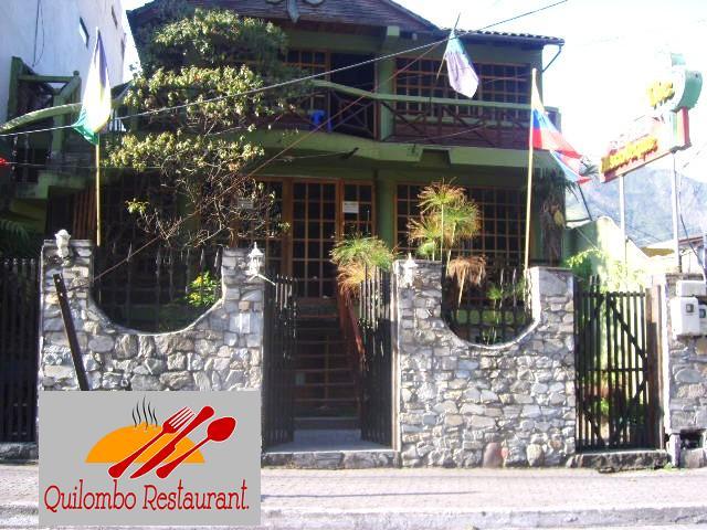 fachada restaurant quilombo en Banios