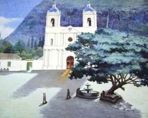 Parque central de Baños
