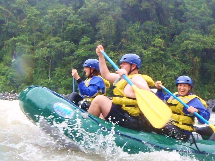 rafting photos ecuador baños